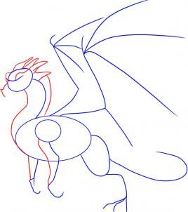 268x302 How To Draw Dragon Step By Step, Step By Step, Dragons, Draw