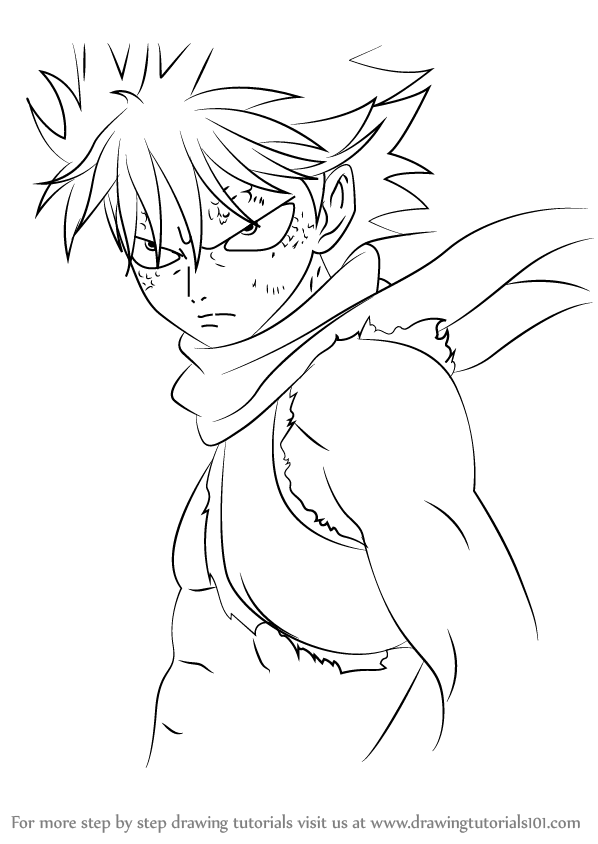 598x844 Learn How To Draw Dragon Force From Fairy Tail (Fairy Tail) Step