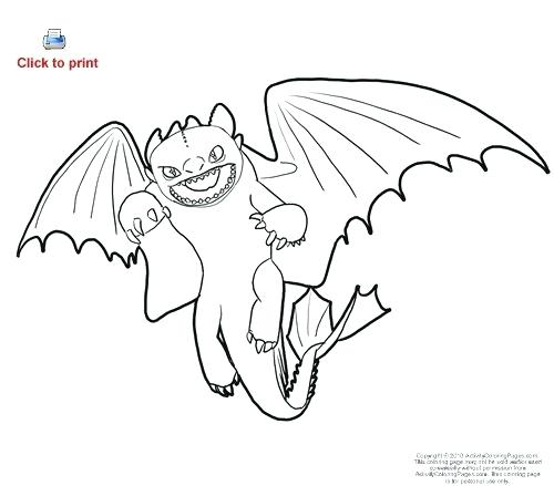 500x439 Night Fury Coloring Page How To Draw Toothless Night Fury Dragon