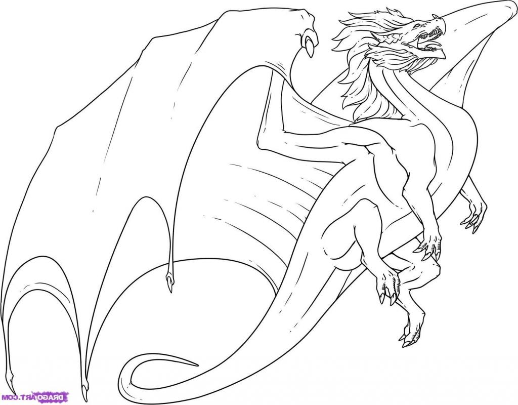 Dragon Easy Drawing