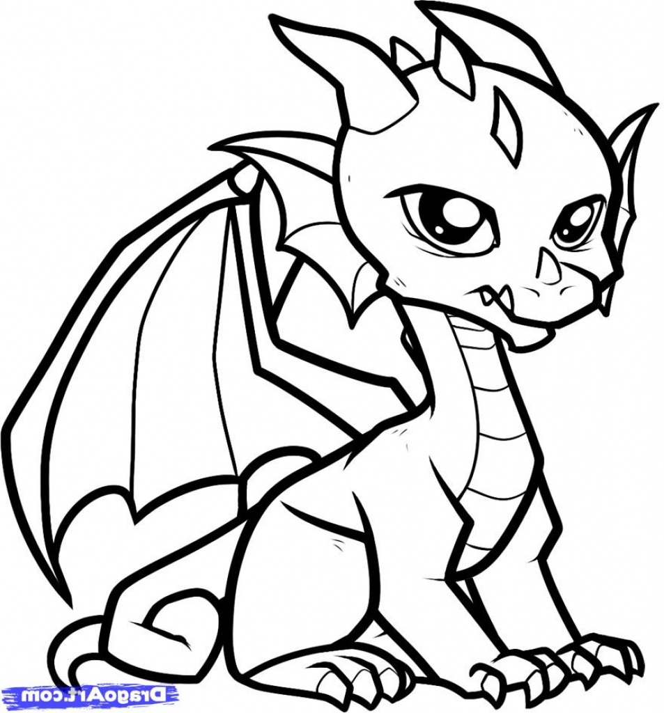 Dragon Easy Drawing at GetDrawings | Free download