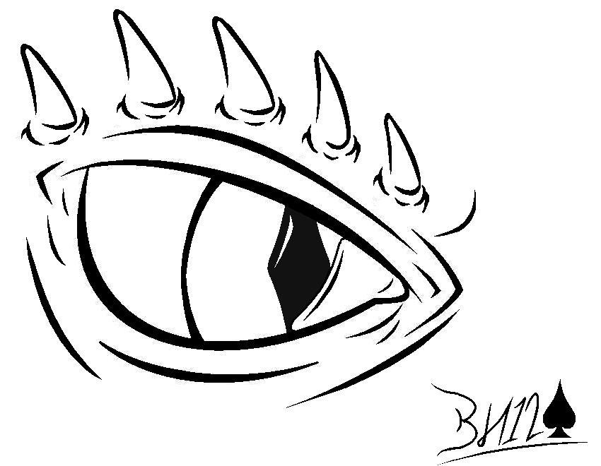 850x660 dragon eye by blackhunter12 on deviantart