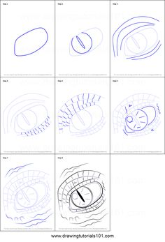 236x347 How To Draw Dragon Eyes