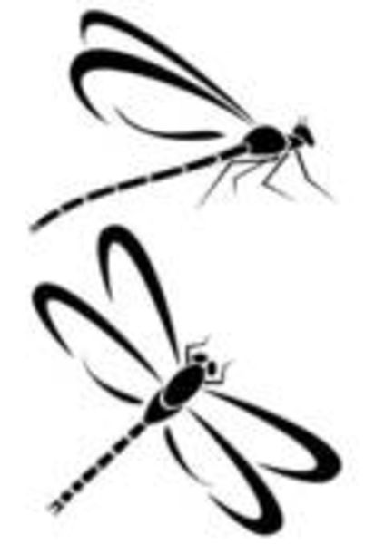 402x600 Free Dragonfly Clip Art Includes