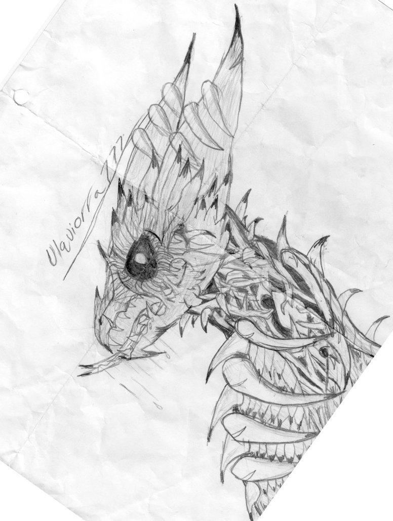 Dragon For Drawing