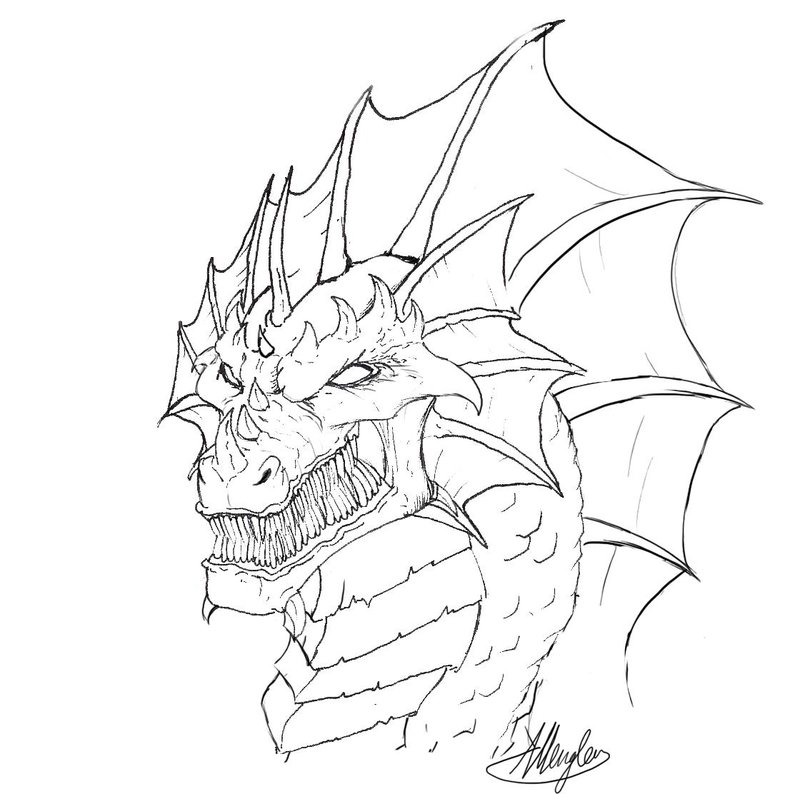 800x794 dragon head