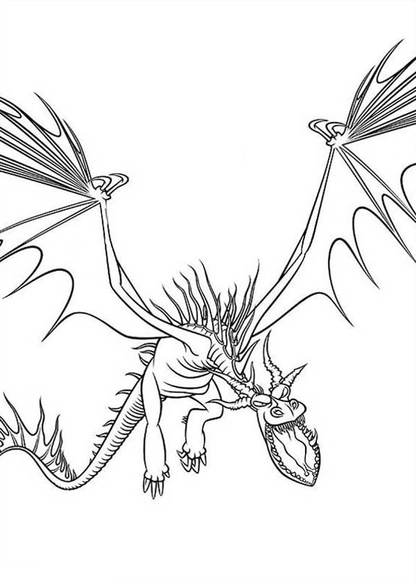 600x841 How To Train Your Dragon Drawing Coloring Pages Bulk Color