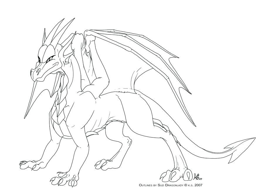900x667 Great Captivating Dragon Outlines For Drawing New Printable