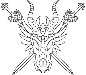 Dragon Skull Drawing at GetDrawings com | Free for personal