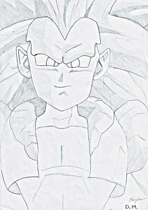 211x300 Dragonball Drawings