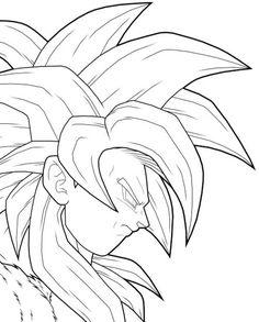 236x293 Drawing Goku Super Saiyan From Dragonball Z Tutorial Step 08 Yo