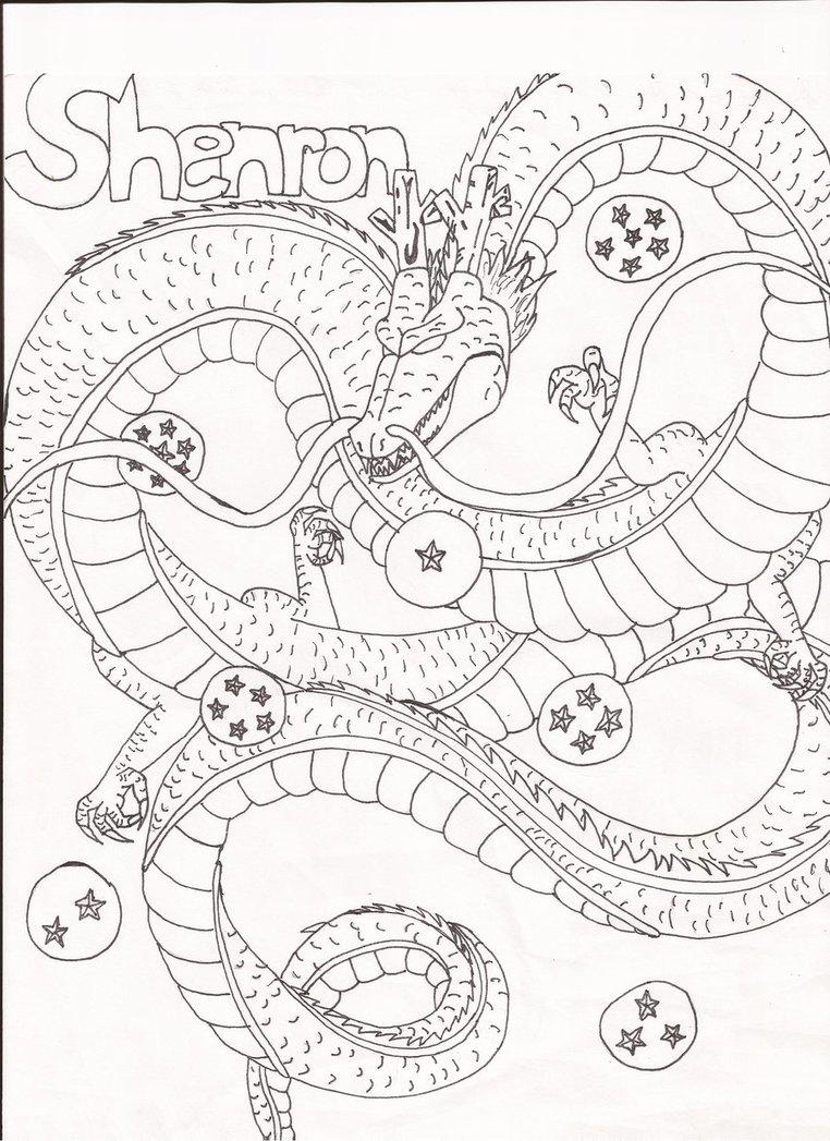 762x1047 Shenron Dbz Coloring Pages Vegeta Coloring Pages