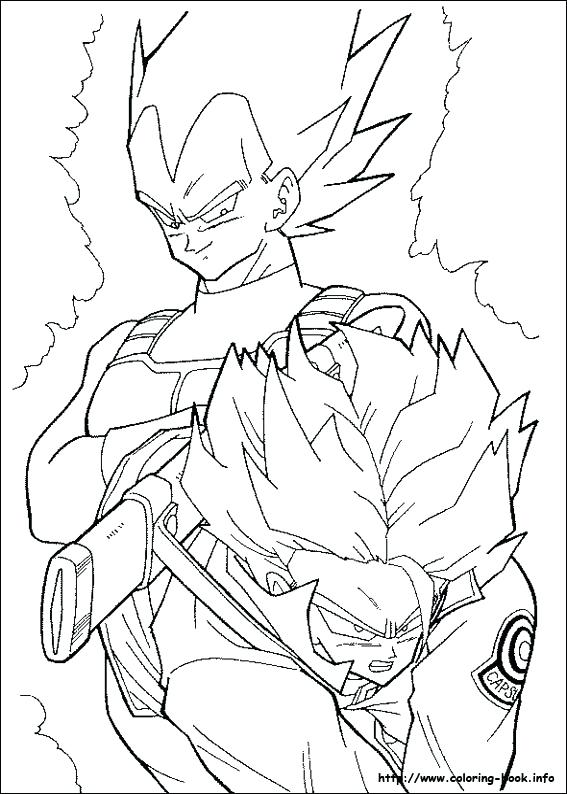 567x794 Gohan Coloring Pages Cortefocal.site