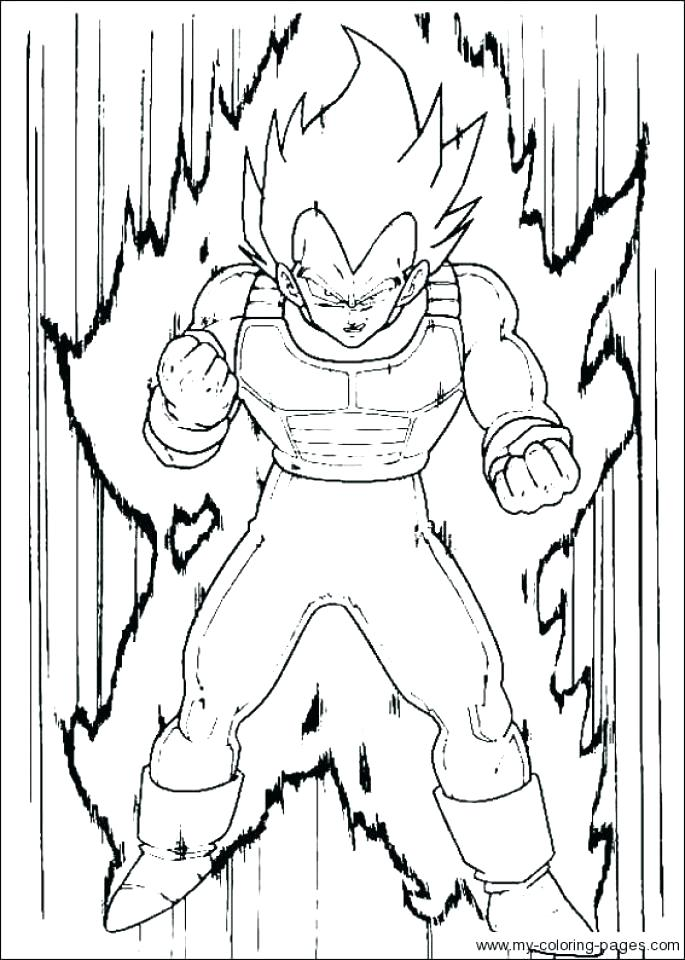 685x960 Dragon Ball Z Color Page Coloring Pages To Print