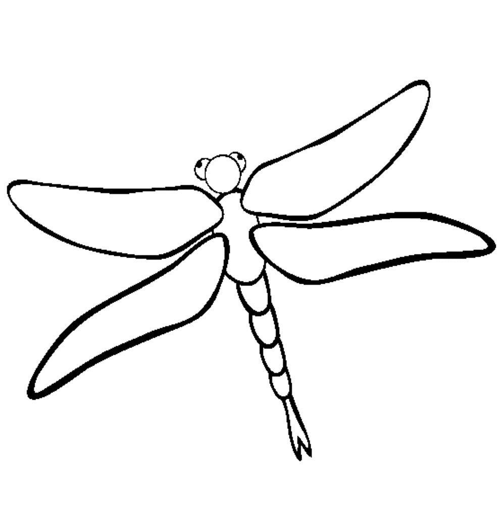 Dragonfly Drawing Images at GetDrawings.com | Free for personal use ...