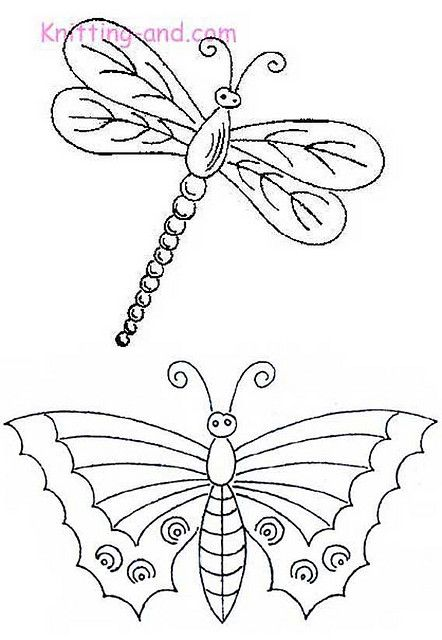 Dragonfly Scientific Drawing