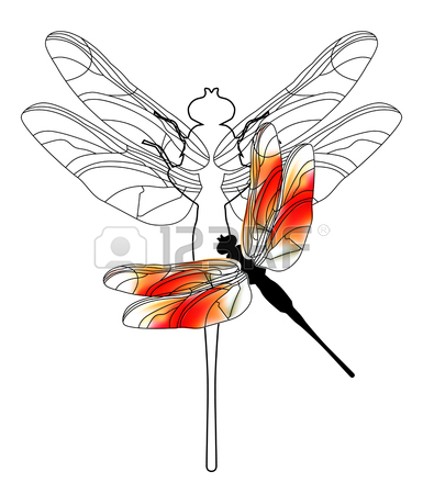385x450 606 Dragonfly Flat Icon Stock Illustrations, Cliparts And Royalty