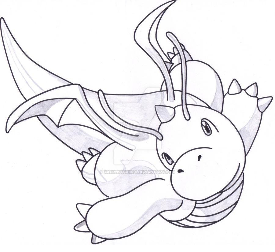 900x824 Dragonite Glide By Taurustiger86