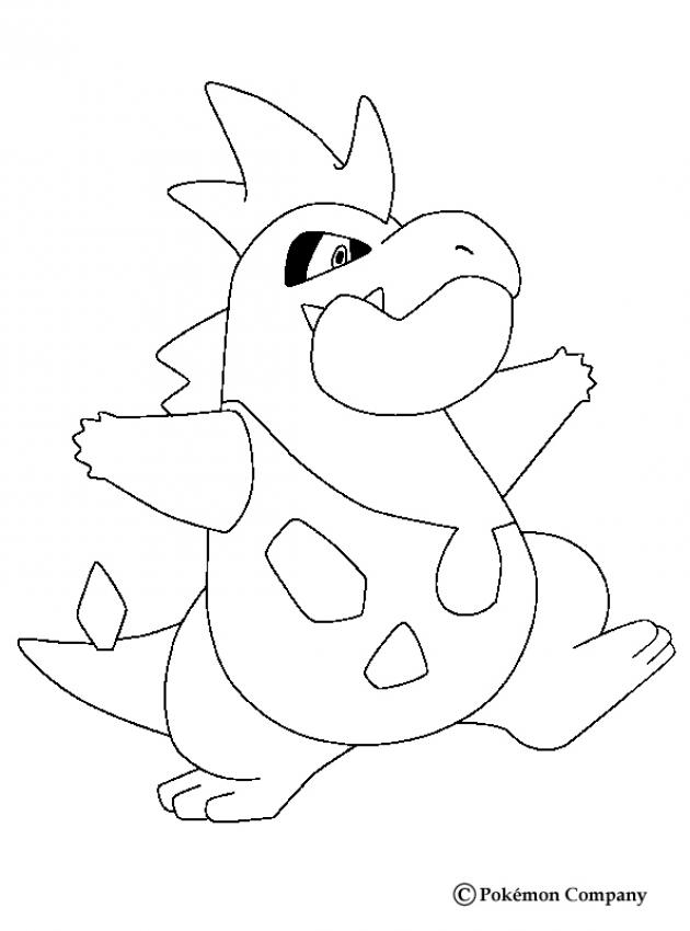 630x850 Dragonite Coloring Pages