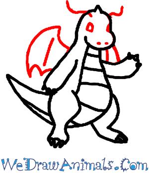 300x350 How To Draw Dragonite Pokemon