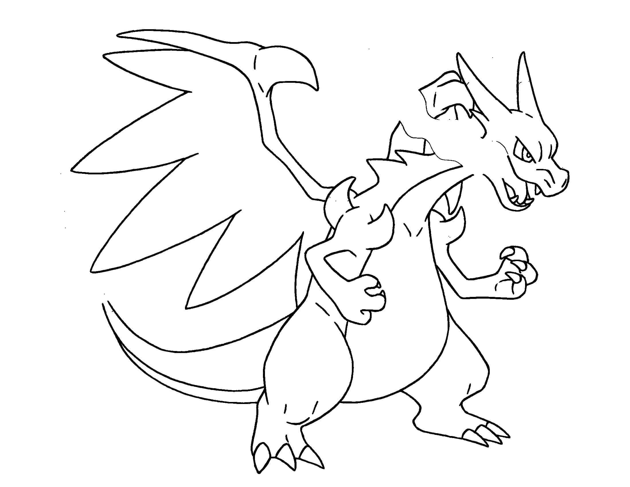 2197x1701 Pokemon Drawing Coloring Pages Free Draw To Color