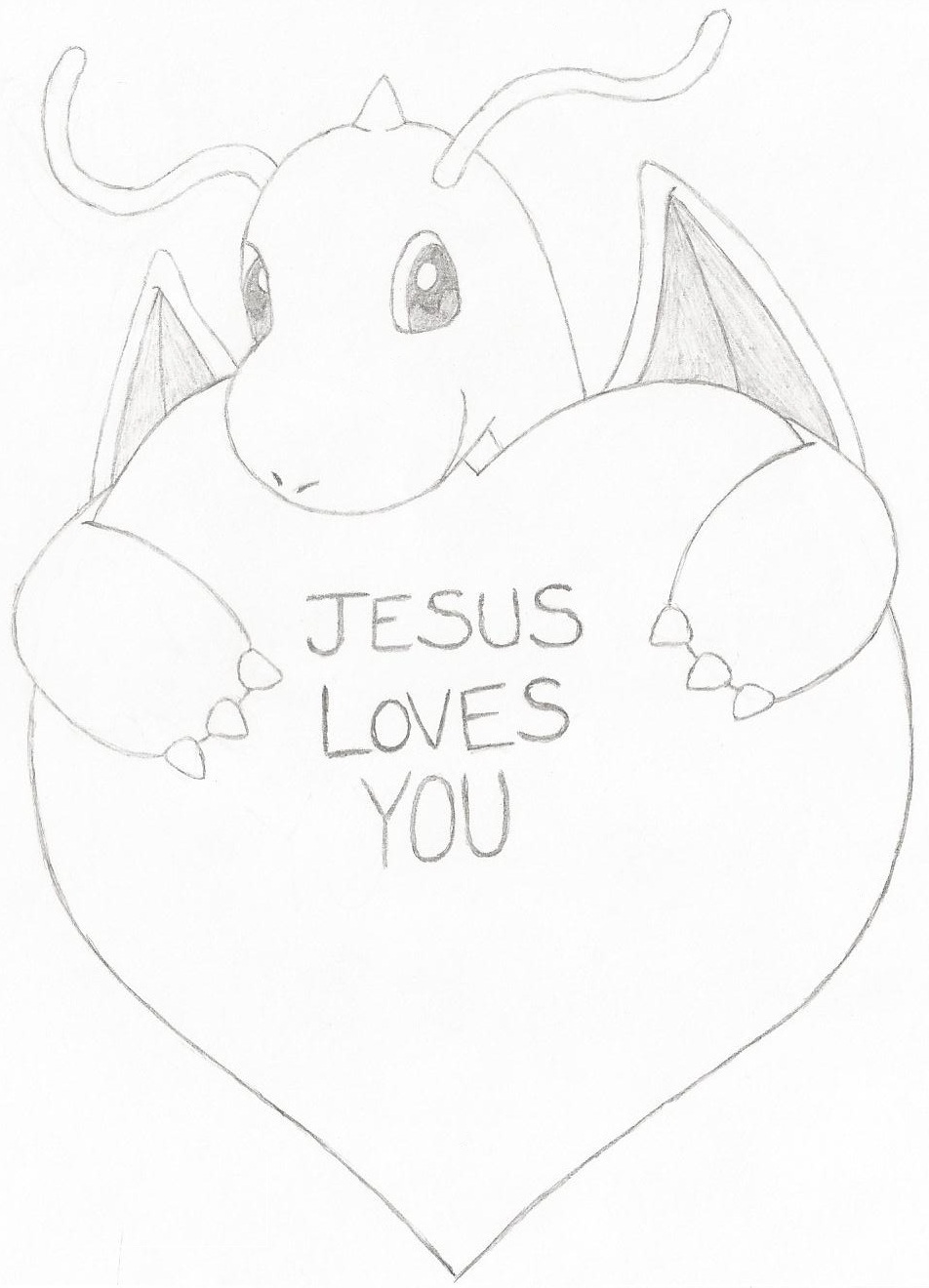 952x1320 Dragonite's Valentine's Day Message By 17chrisjenkins