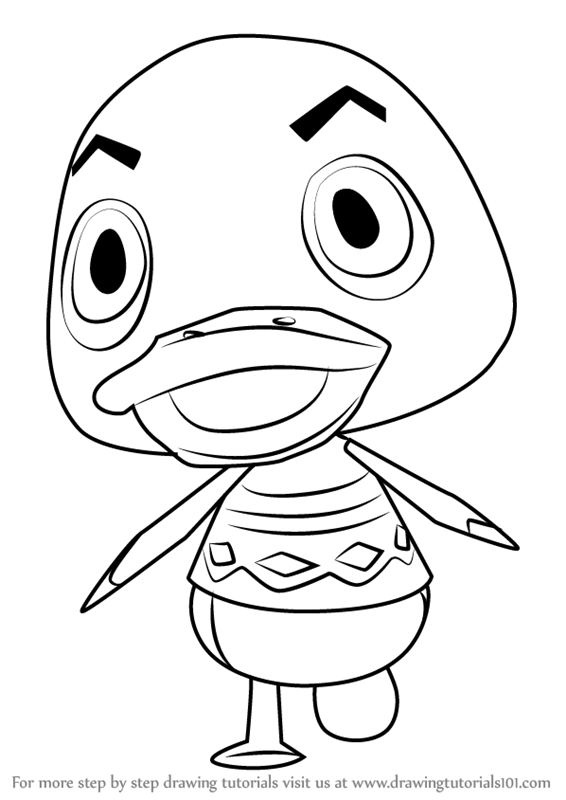 566x800 Learn How To Draw Drake From Animal Crossing (Animal Crossing