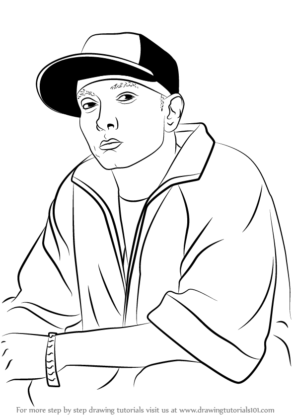 596x843 Rappers Drawing Tutorials