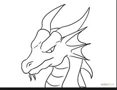 236x182 Sketches Of Dragons How To Draw A Flying Dragon, Dragon