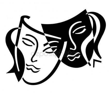 450x385 Drama Masks Stock Photos, Royalty Free Drama Masks Images