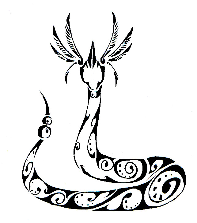 600x577 Coloring Pages Pokemon 643x725 Dragonair Tribal Tattoo By Canyx