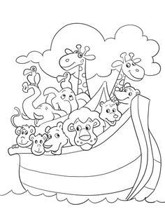 236x305 Free Children Coloring Pages Of Noah Ark Baby Room