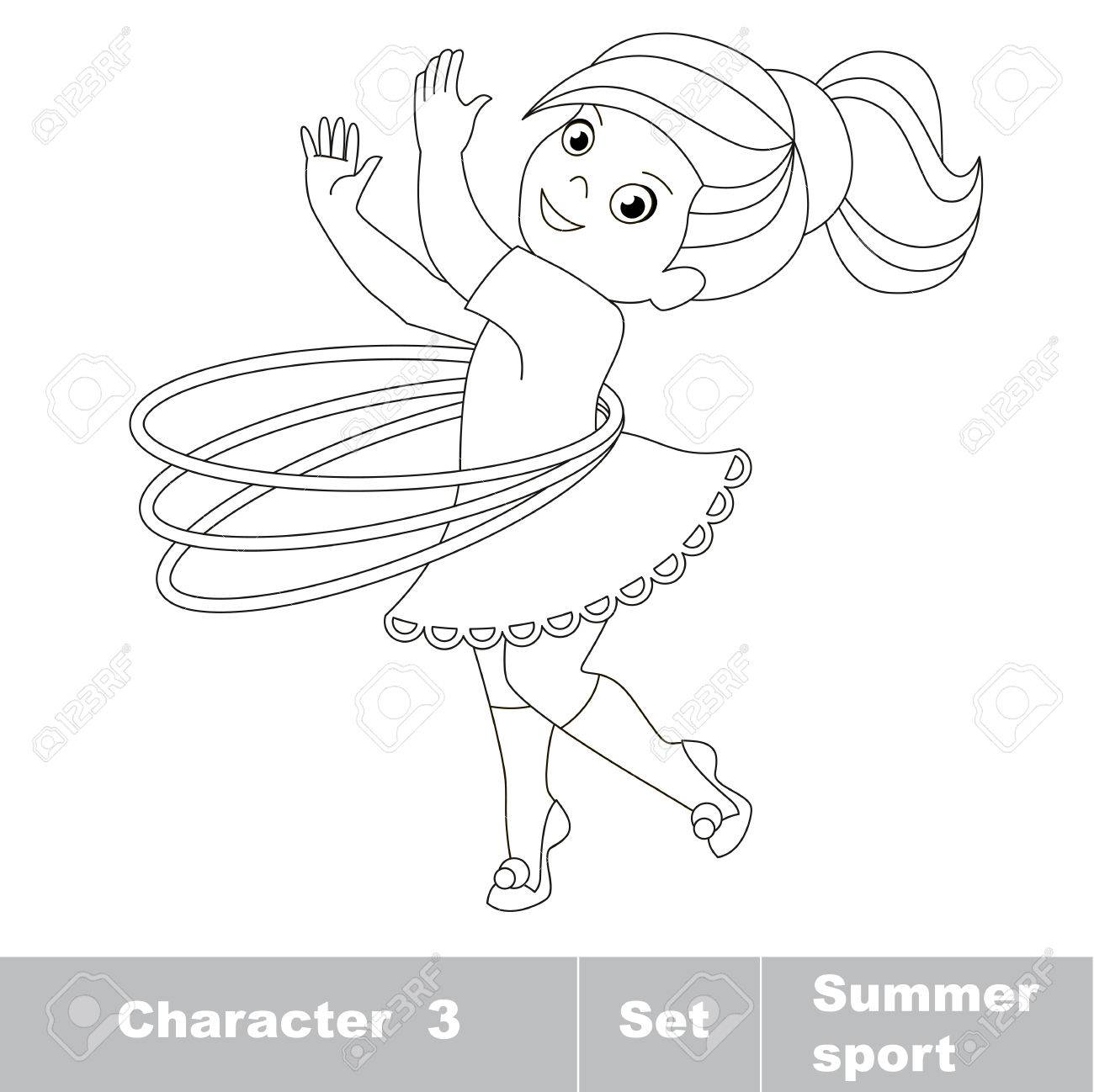 1300x1298 Page To Be Color. One Baby Girl Turns The Hoop. Summer Outdoor
