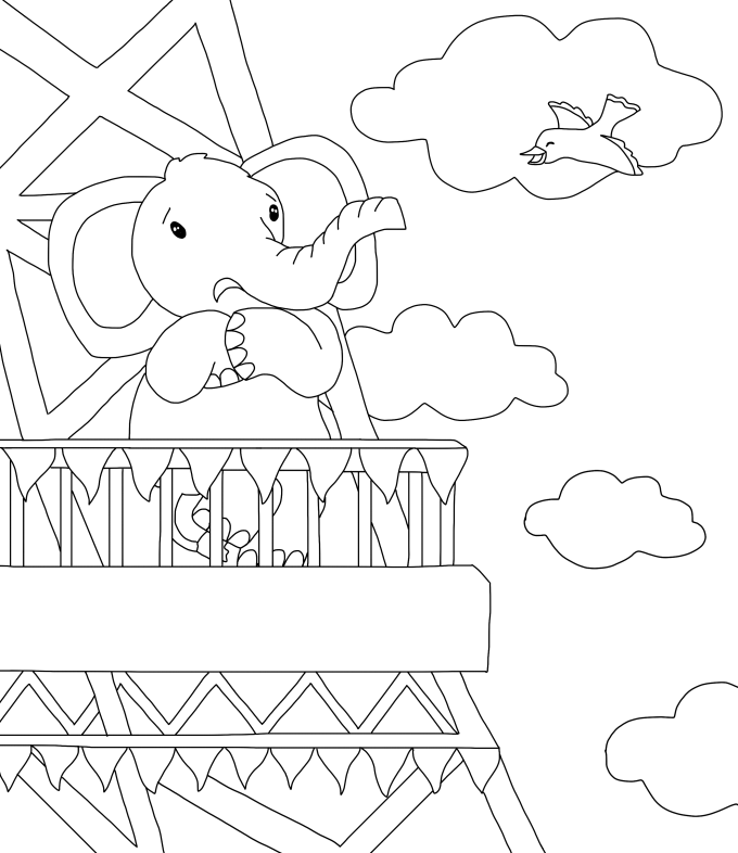 680x786 Make Detailed Line Drawings For Children Book Drawings