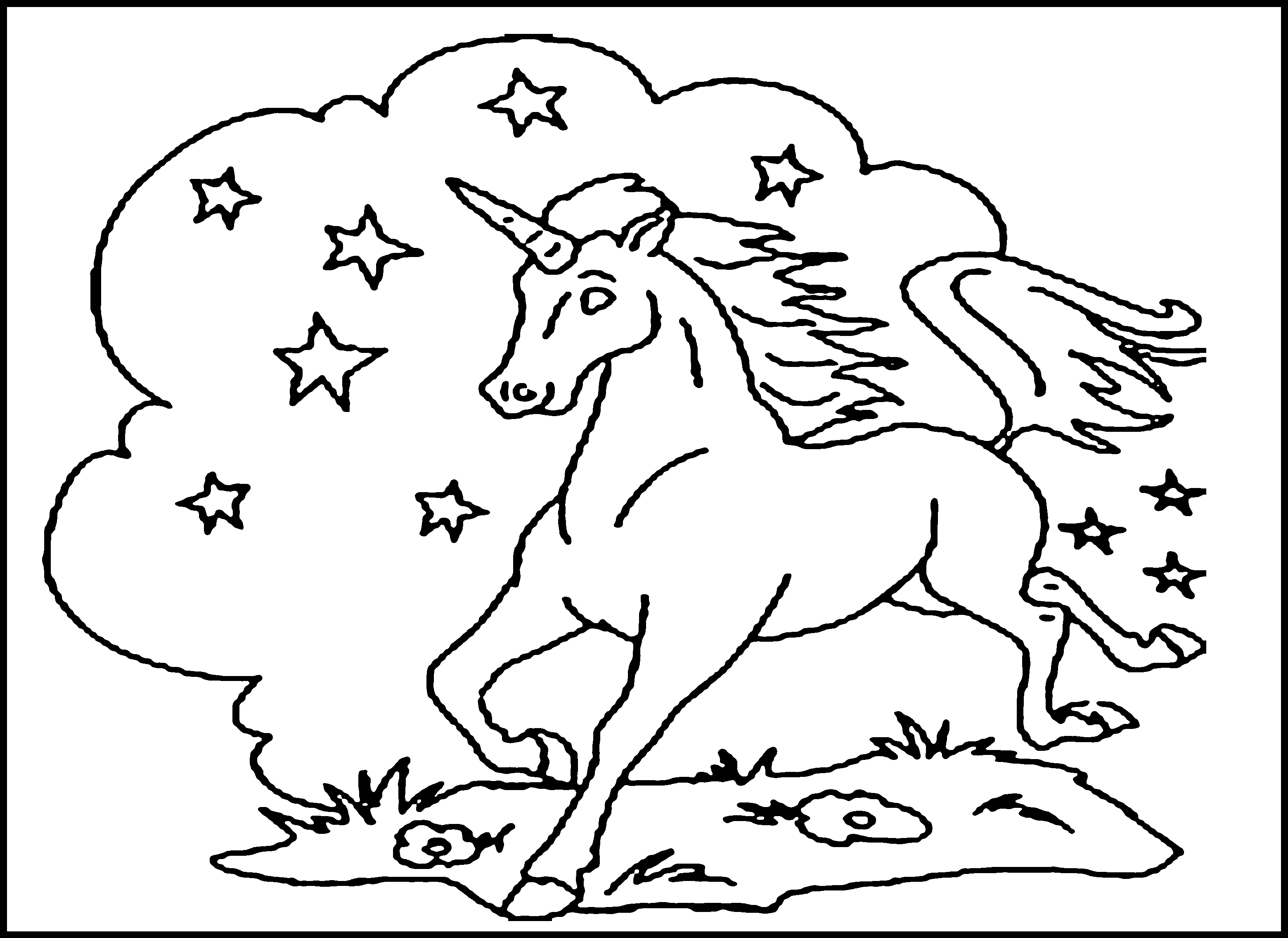3120x2270 Free Printable Unicorn Coloring Pages For Kids