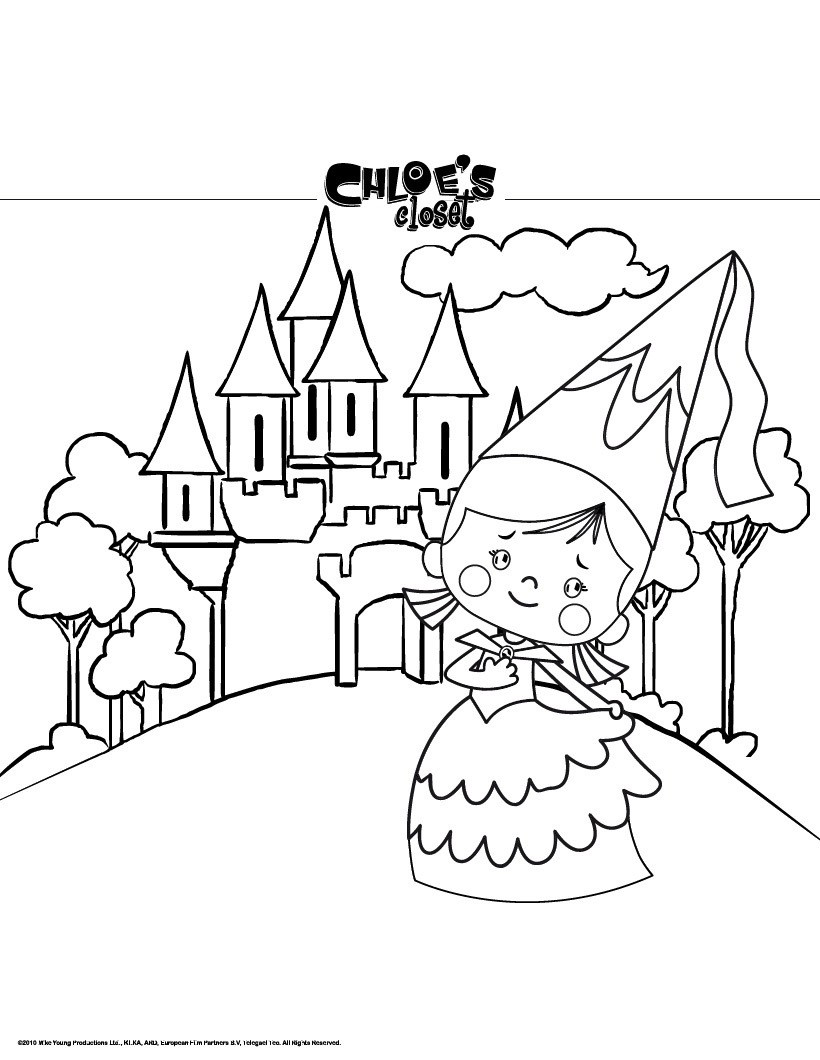 820x1060 Castle Coloring Pages, Free Online Games, Reading Amp Learning