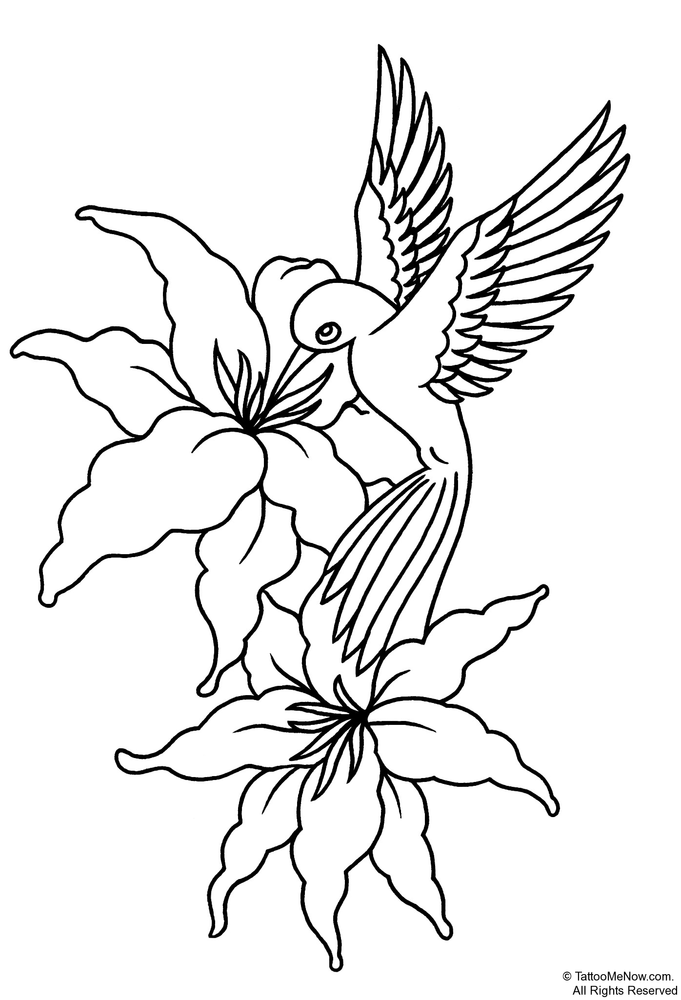 1396x2050 Flower Stencils Printable Your Free Printable Tattoo Designs