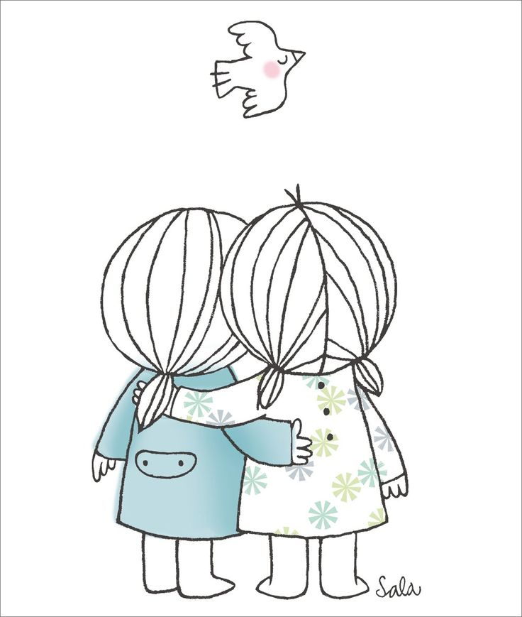 736x869 Pictures Easy Friendship Drawings Drawing Art Gallery