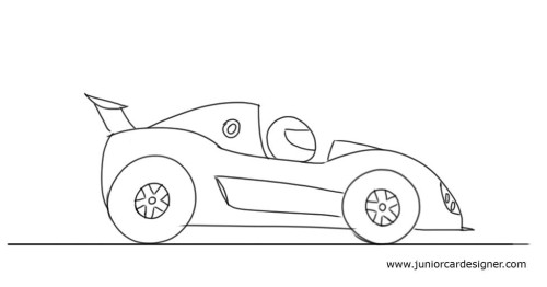 500x262 draw a cartoon race car art drawings patterns pinterest