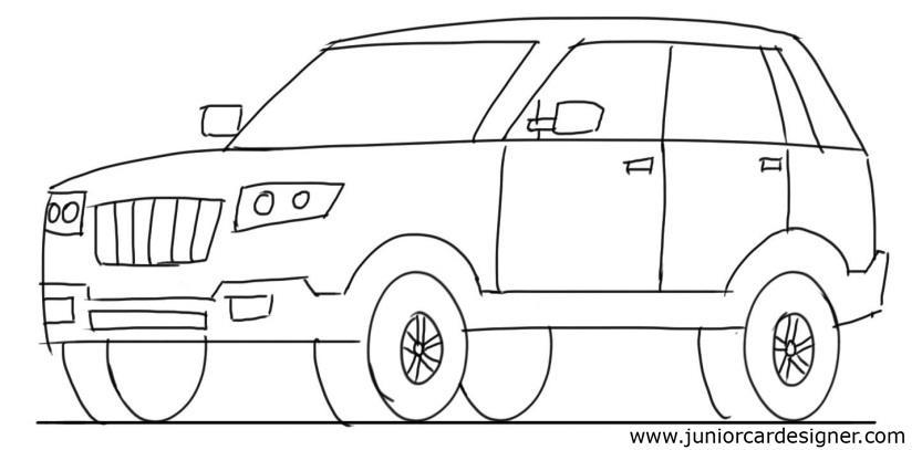 Drawing For Kids Car at GetDrawings.com | Free for personal use ...
