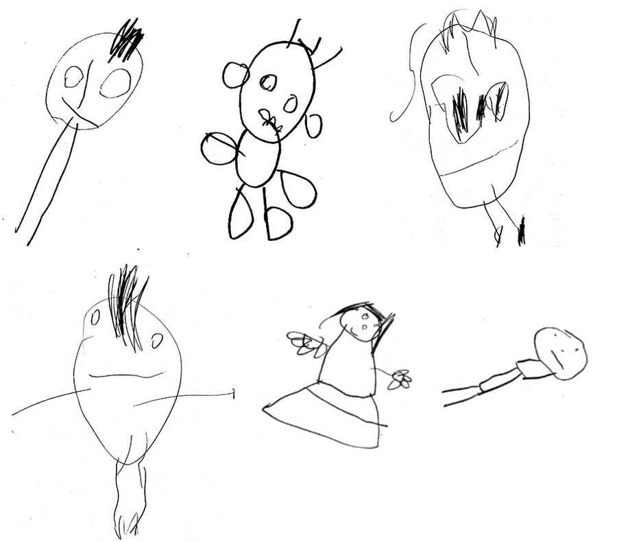 900x790 What Kids' Drawings Say About Their Future Thinking Skills Shots