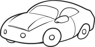 302x150 Coloring Pages Engaging Cars Drawing For Kids Gyb How To Draw