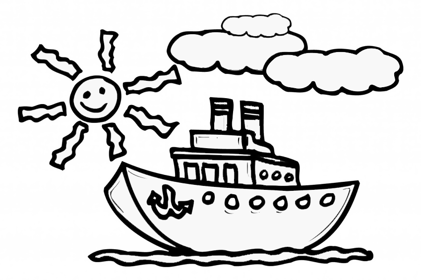 Drawing For Kids To Colour at GetDrawingscom Free for personal
