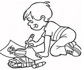 274x230 Children Drawing Pictures For Painting Coloring To Funny Page