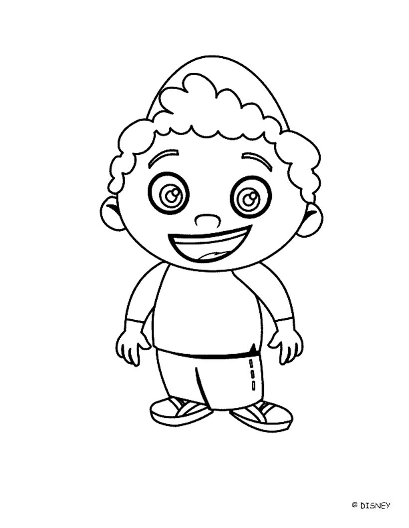 820x1060 Little Einsteins Coloring Pages