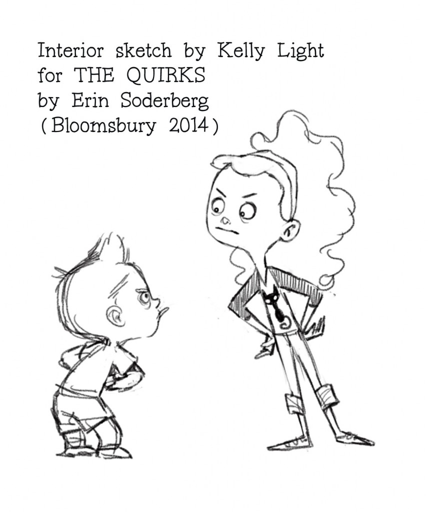856x1024 Mini Interview With Kelly Light! Idle Illustration