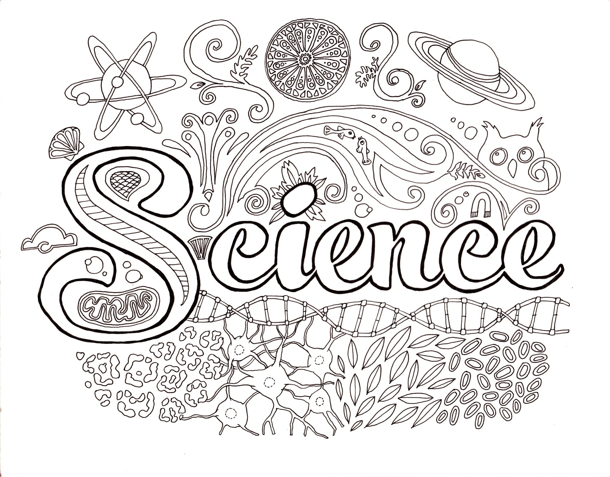 2000x1566 Science Coloring Pages Middle School New Science Coloring Pages