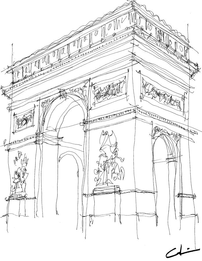 698x900 Triumphal Arch Drawings