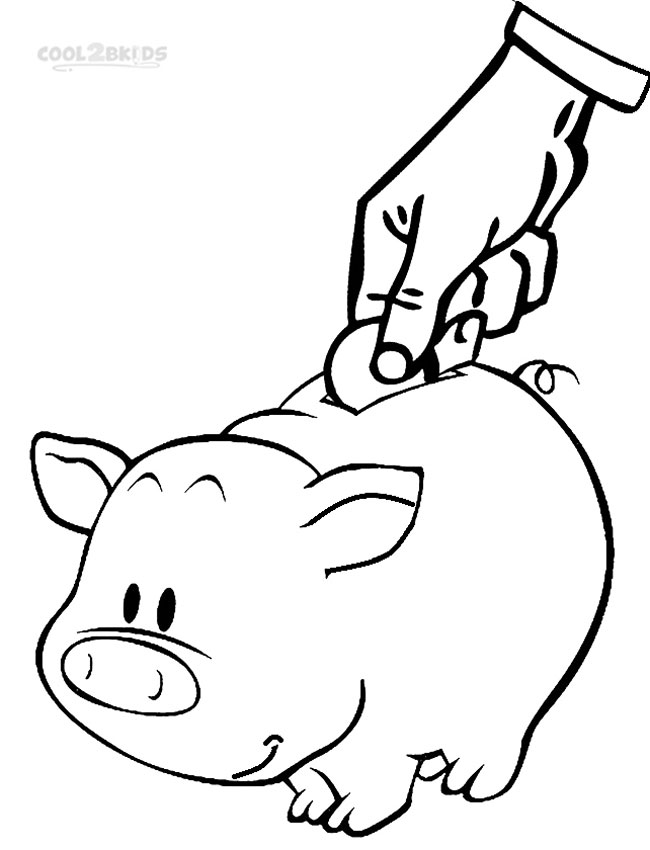 650x850 Printable Money Coloring Pages For Kids Cool2bkids