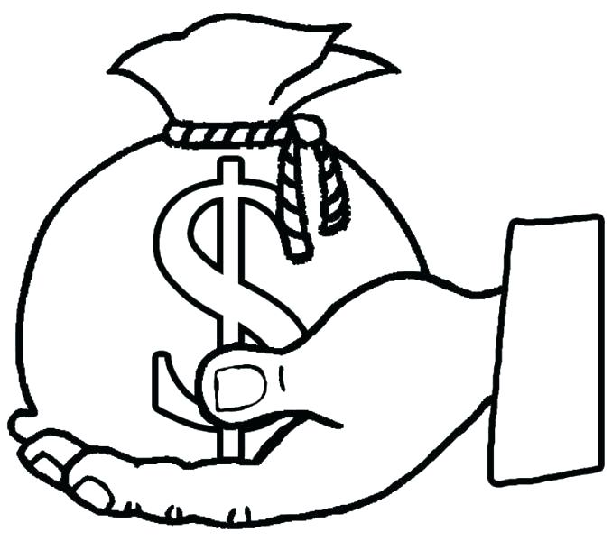 678x600 Best Of Money Coloring Pages Images Money Coloring Pages Money